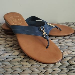 Italian Shoemaker sandals size 8,5